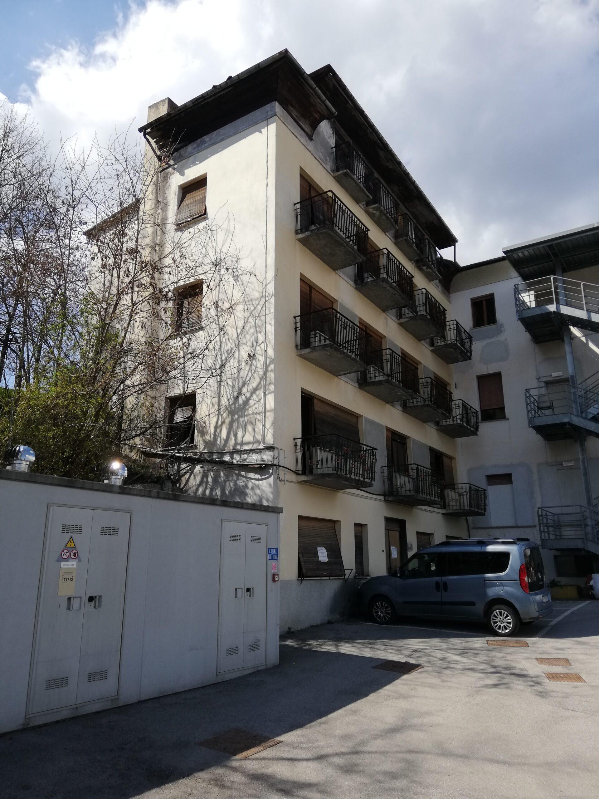 Demolizione Aulss Dolomiti Ospedale Lamon