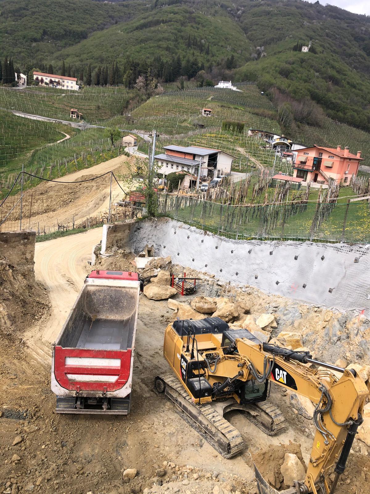 Realizzazione nuova cantina nelle colline del Prosecco, UNESCO